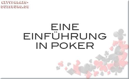Eine Einführung in Poker